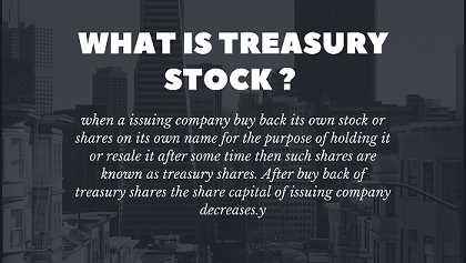 what is treasury stock or treasury shares